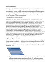Unit 4 Intellipath - The Negotiation Process.docx