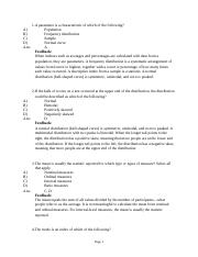 Chapter 12- Statistical Analysis of Quantitative Data