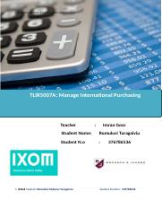 International Purchasing Plan.doc