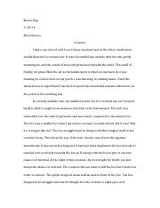 Short Stories Essay 6
