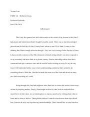 Ib world literature essay structure Domov
