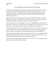 Everest Memorandum and Letter Formatting 20140331
