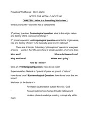 govt 330 reading notes GM