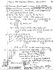Physics_9HD_Final_Exam_Solutions_2007