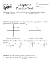Chapter 3 Practice Test