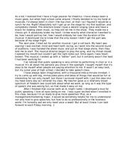 Own self reflection essay