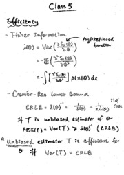 Tutorial 5 (notes and solution)