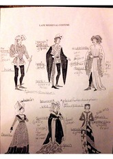 Survey of Historic Costume 5th edition Late Medieval Costume Identification