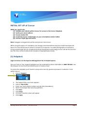 Concur User Guide - Initial Setup of Concur_3