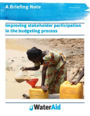 Improving stakeholder participation in the budgeting process.pdf