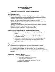 BUS 120 Chapter 7  Marketing Segmentation and Positioning.docx