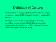 Chapter 2 Culture PPT0