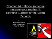 CHAPTER 14- DEATH PENALTY