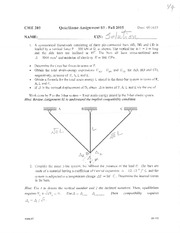 Quiz-Home Assignment 03 (solution)