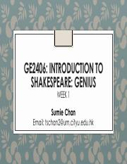 Week 1 Introduction to Shakespeare.pdf