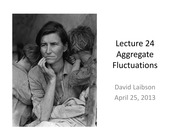 Lecture 24 Fluctuations
