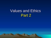 W13-b-values and ethics