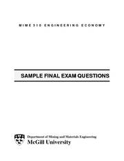 sample final questions