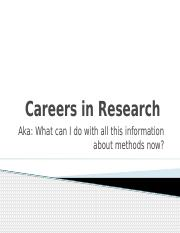 Week 14- Careers in Research.pptx