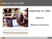 F09-Class-06-Business Processes