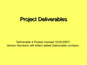 ProjectDeliverables.CEN6016.Fall2007.Del4