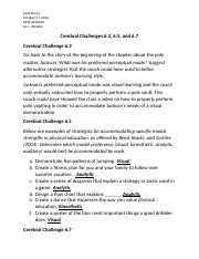 CH. 6 Cerebral Challenges.docx