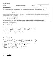 L11A - 7.8 - Improper Integrals 1 - key