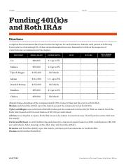 Funding A 401k N A Me Dat E Funding 401 K S And Roth Iras