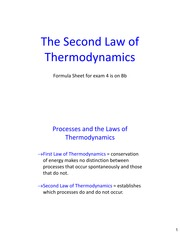 Lecture26 Ch20 SecondLawThermo