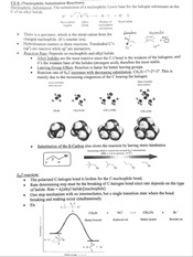 Chemistry - Exam 2 - Study Guide