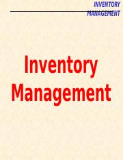08_Inventory Management
