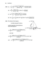 16_Chapter 15 HomeworkCH15 Electric Forces and Electric Fields