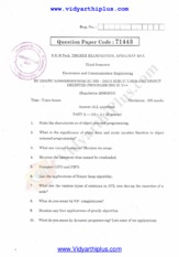 Data structures And OOPS April May 2015 Question Paper