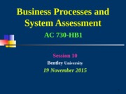001 AC730 HB1  Session 10 JB V3 LOAD Copy 16nov15