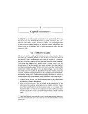 Chapter 9 Capital Instruments
