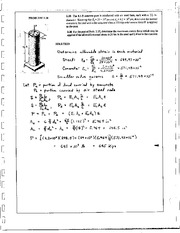 85_Mechanics Homework Mechanics of Materials Solution