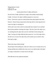 nyu writing the essay science