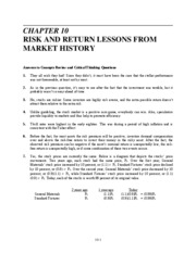 Ch 10 Risk and Return Lessons from Market History_1