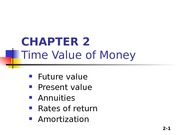 Chapter 02 -Time value of money