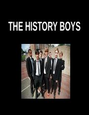 THE HISTORY BOYS.ppt