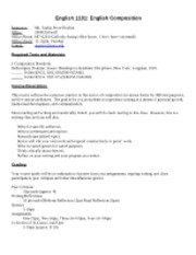 1101_Syllabus-Fall_2010-UNCC