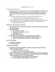 Marketing Chapter 16 Notes.docx