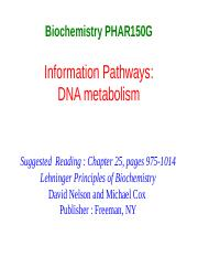 Chapter_25 DNA metabolism.ppt