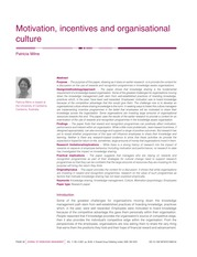 Milne - Motivation and Organisational Culture