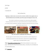 One Pager The Civil War.docx