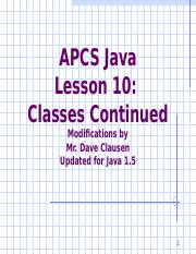 APCS_Java_Lesson_10_Java_1_5.ppt