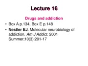 LECTURE 14 -Drugs and addiction-2015