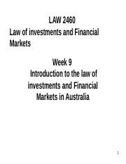 WEEK 9 INTRO TO LEGAL FRAME WORK FOR INVESTMENTS.ppt