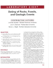 Lab%204---Dating%20of%20Rock%2c%20Fossils%2c%20and%20Geologic%20Events
