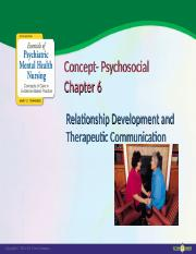 ways of maintaining the therapeutic relationship Developing therapeutic relationships.